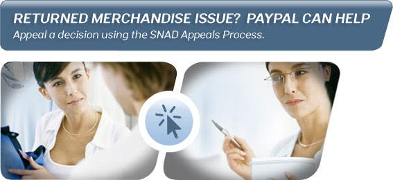 Sellers have rights, too.Appeal a decision using the SNAD Appeals Process.