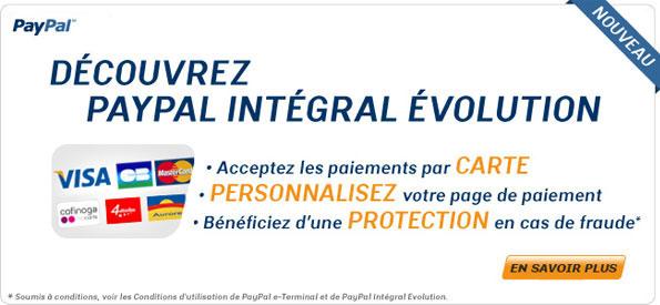 Découvrez PayPal Intégral Évolution