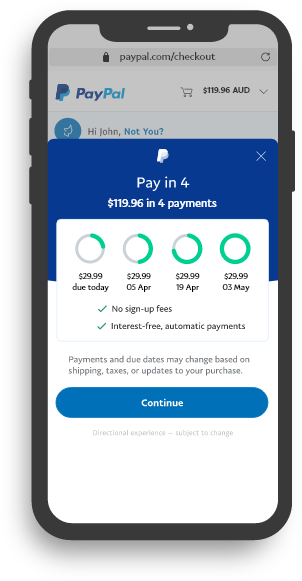 Customer gets clear payment information