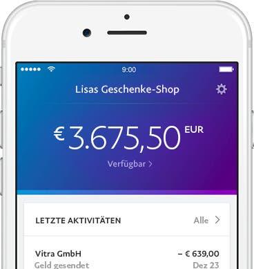 Debitkarte - Debit Mastercard für Unternehmen PayPal DE