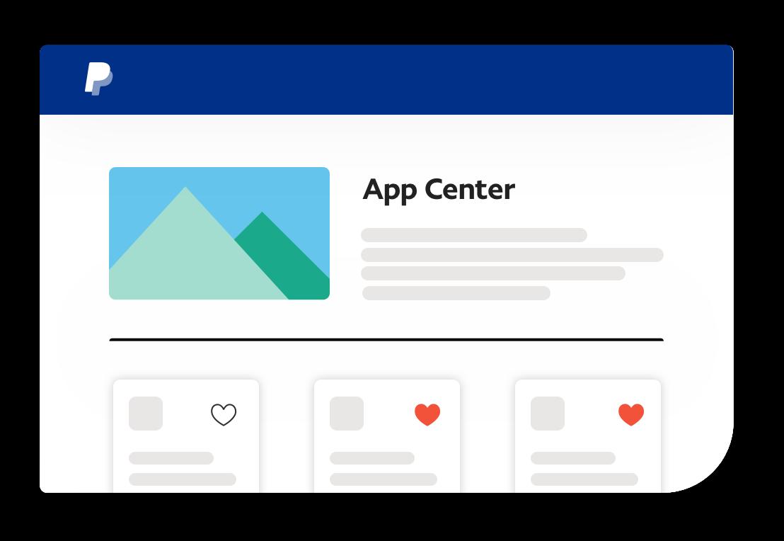 App Center screenshot.