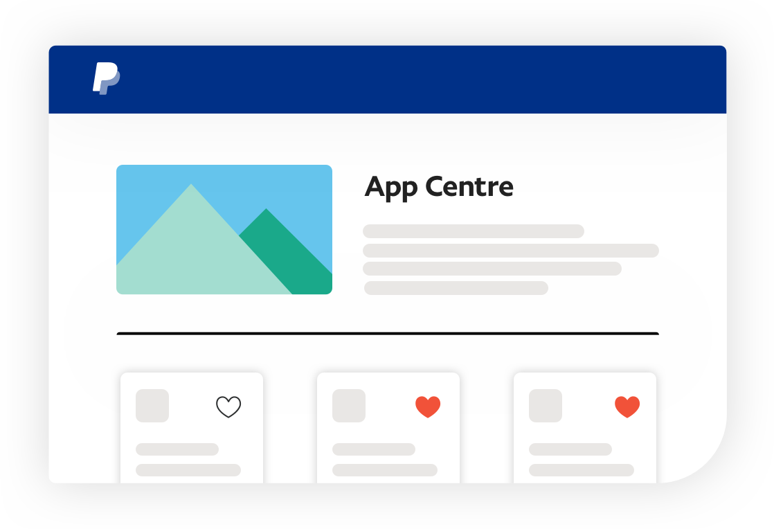 App Centre screenshot.