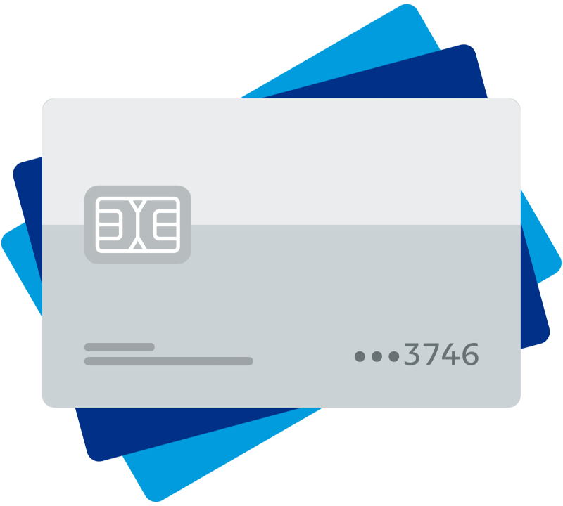 3 credit and debit cards represent some of the popular payment methods merchants can accept with PayPal