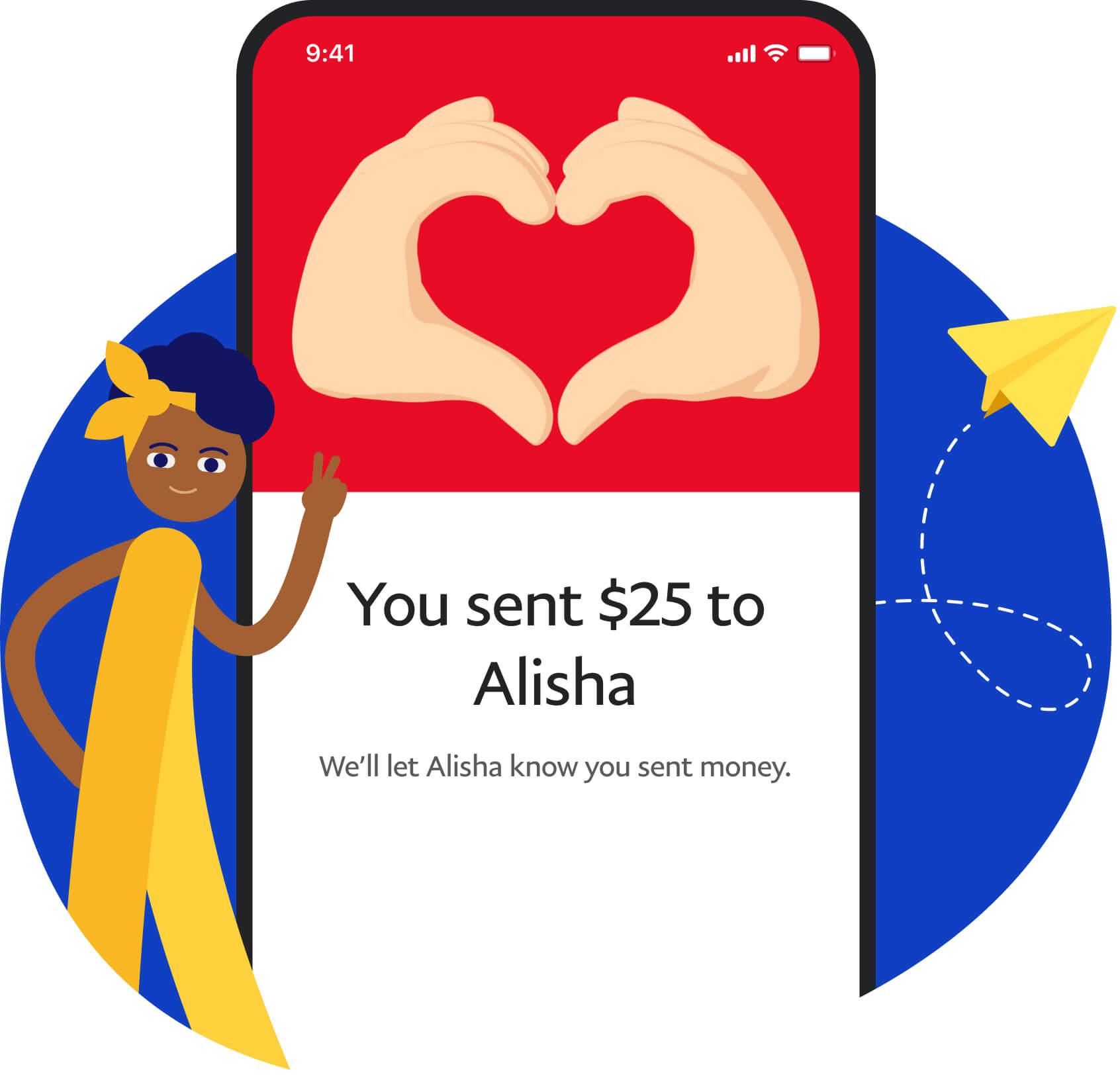 PayPal Send Money on Phone