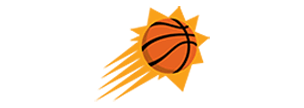 Logo for the Phoenix Suns, a PayPal customer