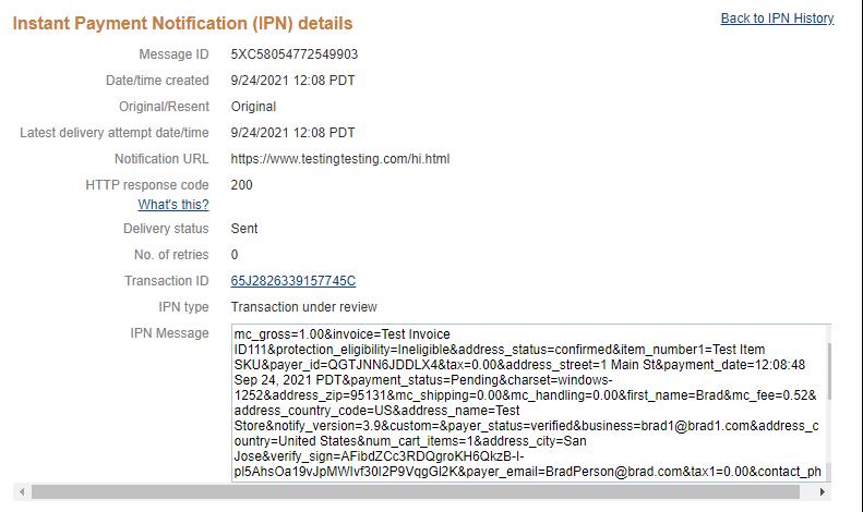 IPN details