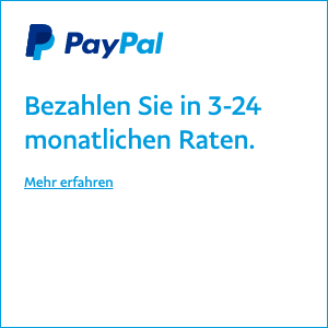 Ratenzahlung Pay Later messaging flex 1x1 white