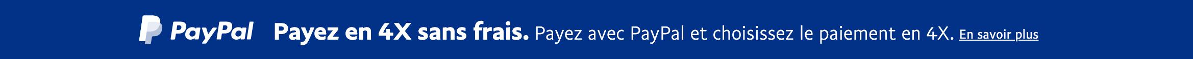 Pay later messaging flex 20x1 blue