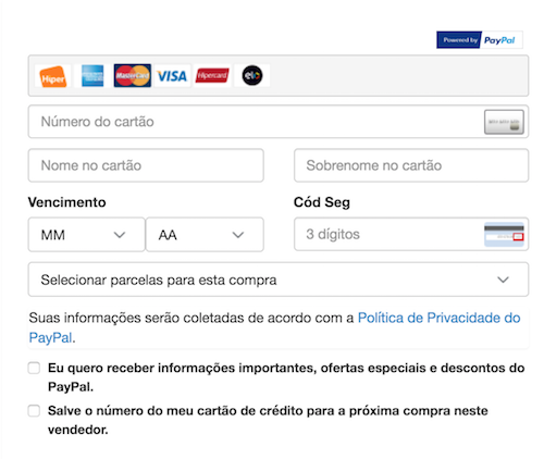 Payment selection Pages 1
