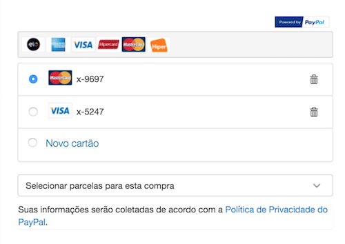 Payment selection Pages 2
