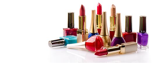 Nail Polishes & Lipsticks