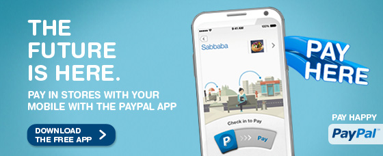 The Future Is Here. Pay In Stores With Your Mobile With The PayPal App. Download The Free App.