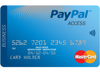The PayPal Access Personal Prepaid MasterCard – PayPal UK