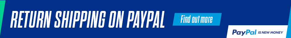 Free Returns When You Pay With PayPal - Click Here