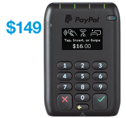 Tap and Go mobile payment card reader