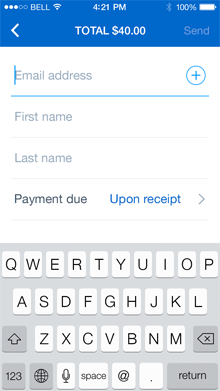 how to delete invoices paypal