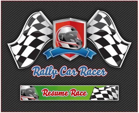 rally car racer resume