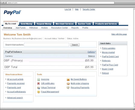 Paypal Ssn