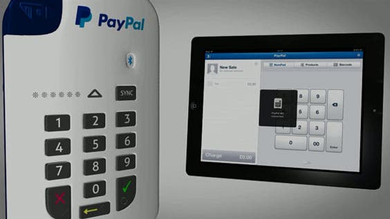 Paypal Mobile Card Reader >> Play the video