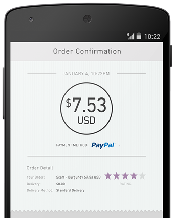 Pay Through PayPal on Mobile Sites - PayPal India