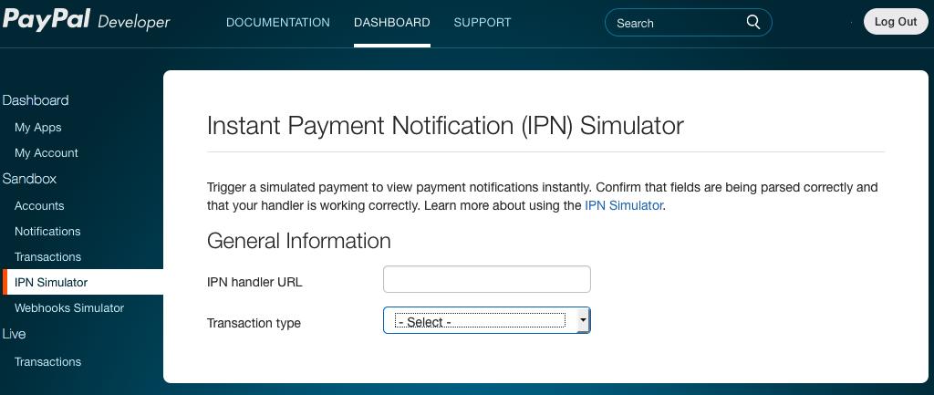 IPN Simulator