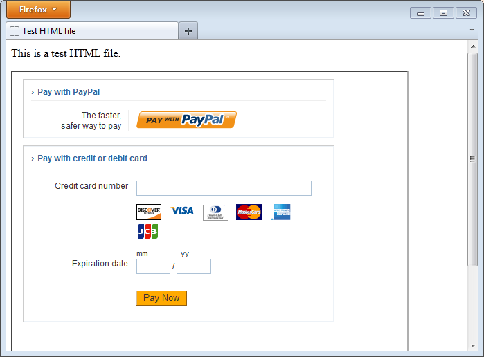 PayPal Payments Advanced: Getting Started with Hosted Pages - PayPal
