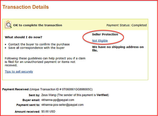 Seller Protection - PayPal Protection for Sellers - PayPal US