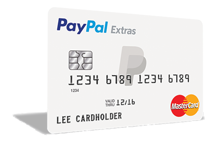 who accepts paypal credit card