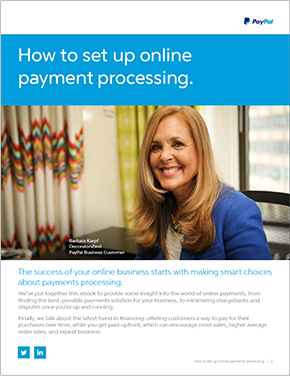 How to Setup Online Payment Processing