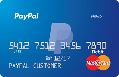 Paypal prepaid mastercard the reloadable debit card from paypal how it works reheart Images