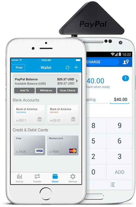 paypal register app