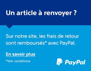 Retour PayPal gratuit