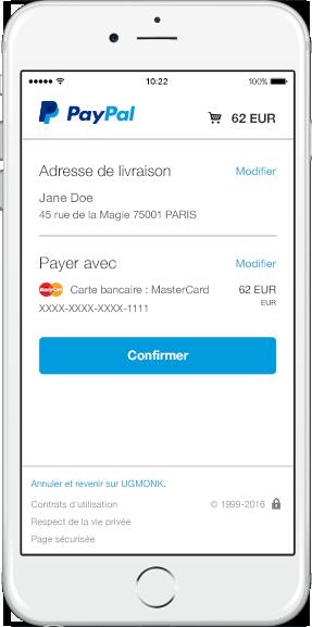 Acceptez les paiements en ligne avec paypal paypal france - Paiement paypal frais ...
