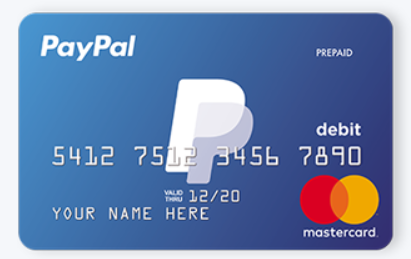 which paypal credit or debit card product should i sign up for