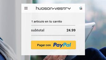 Encuentre el Botón de Pagos Online PayPal