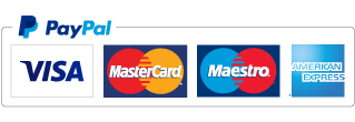 World class, secure payments by PayPal, MasterCard SecureCode and Verified by Visa.
