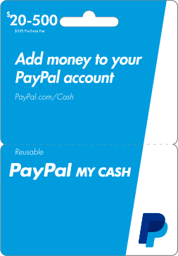 how do i pay money into my paypal account
