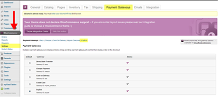 how to show swipe payment button in woocommerce cart