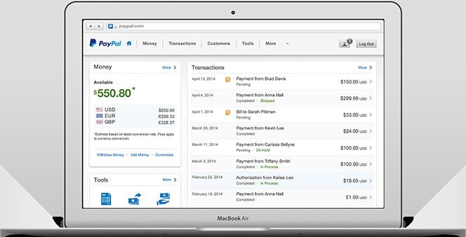 PayPal Business za podjetja in spletne trgovine