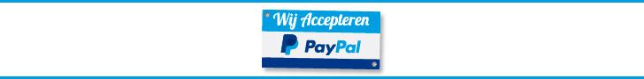 Kies voor PayPal