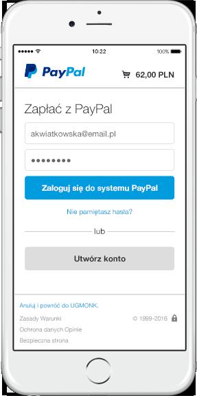 Paypal Logowanie
