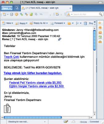 Sahte E-posta